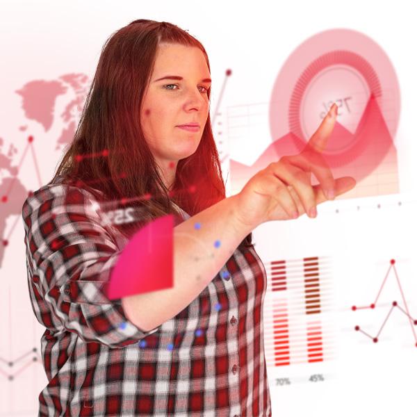 Sekundäres Mitarbeiterbild von unserem Online Marketing Manager - Franziska Gonschor